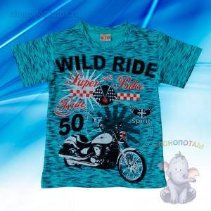 """Футболка """"Wild Ride"""", 4, 6, 8, 9 лет"""