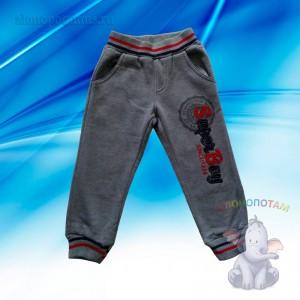 Утепленные спортивные штаны для мальчиков, 4 года