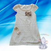 Платье ажурное, 4, 5, 6, 7 лет